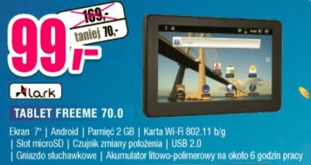 Tabletowo.pl Promocja: Lark FreeMe 70.0 za 99 złotych w Mix Electronics Nowości