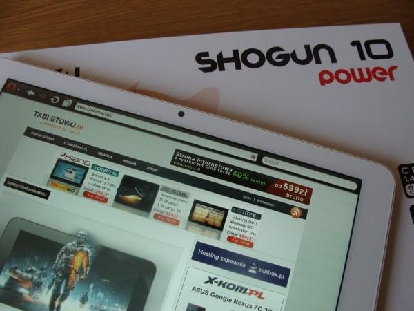 Tabletowo.pl Promocja: Shiru Shogun 10 Power 3G za 999 złotych Nowości Promocje