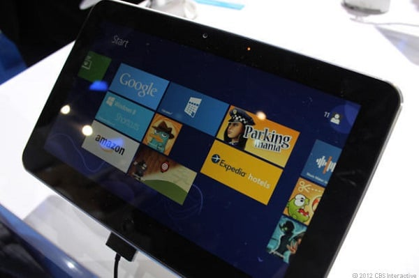 ZTE V98 z Windows 8 na MWC 2013