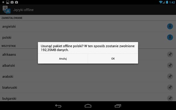 Tabletowo.pl Tłumacz Google na Androida z trybem offline Aplikacje Nowości