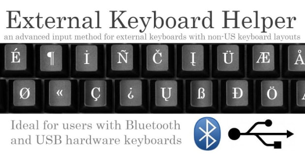 External Keyboard Helper android