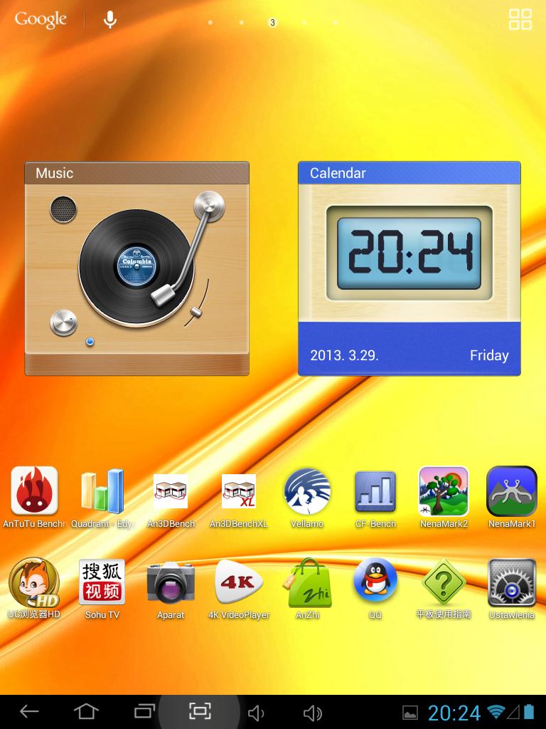 Recenzja tabletu Onda V812