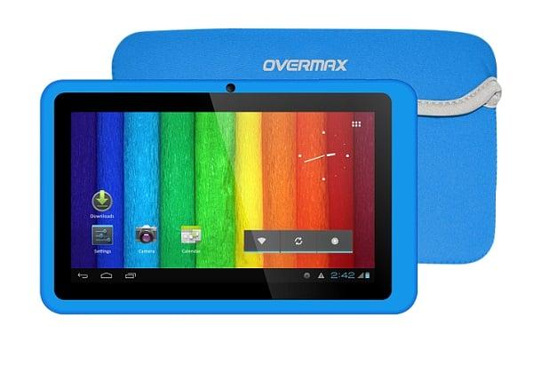 Tabletowo.pl Kolorowy Overmax NewBase z Androidem JB Nowości