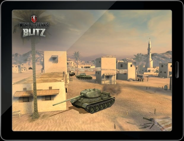World of Tanks Blitz Android OS