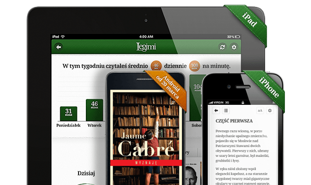 Tabletowo.pl Czytaj bez limitu od Legimi wkrótce na Androida Aplikacje Nowości