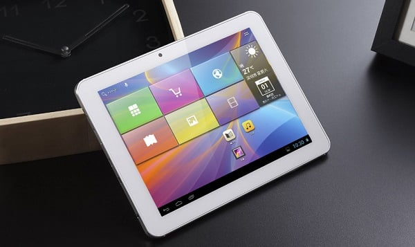 Tabletowo.pl 8-calowy ifive MX z 3G i GPS debiutuje w Polsce Chińskie Nowości