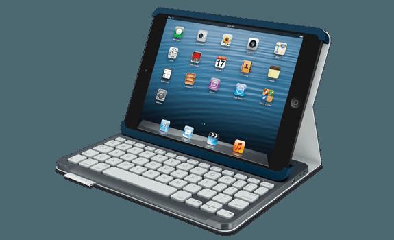Tabletowo.pl Logitech Keyboard Folio dla tabletów Apple: iPada i iPada mini Akcesoria Nowości