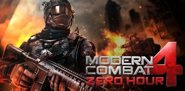 Tabletowo.pl Modern Combat 4: Zero Hour na Androida i iOS taniej o 6 dolarów ($0,99) Aplikacje Nowości