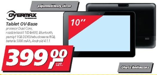 Tabletowo.pl Promocja: dwurdzeniowy Overmax OV-Base (BaseCore 10?) za 399 złotych Nowości Promocje