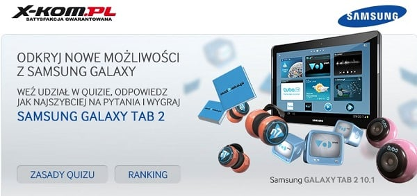 Tabletowo.pl Konkurs 10 cali za 10 pytań - Samsung Galaxy Tab 2 10.1 P5110 Konkursy Samsung