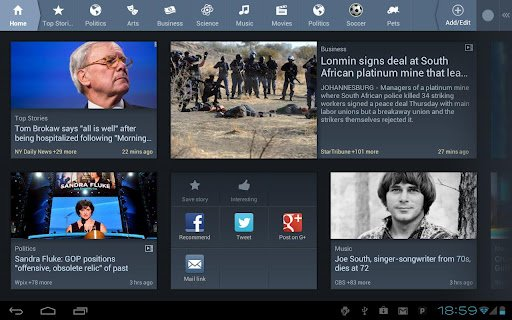 360news for tablets android