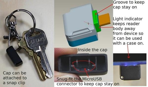 Tabletowo.pl Miniaturowy czytnik microSD dla tabletów i smartfonów z Androidem Akcesoria Nowości