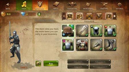 """Tabletowo.pl Dungeon Hunter 4 czyli """"wszystko jest na sprzedaż"""" Aplikacje Ciekawostki Nowości"""