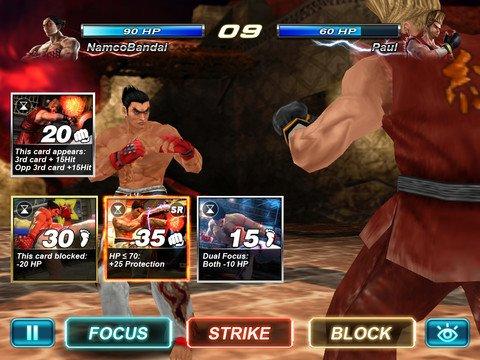 Tabletowo.pl Tekken Card Tournament debiutuje na iOS i Android Aplikacje Nowości