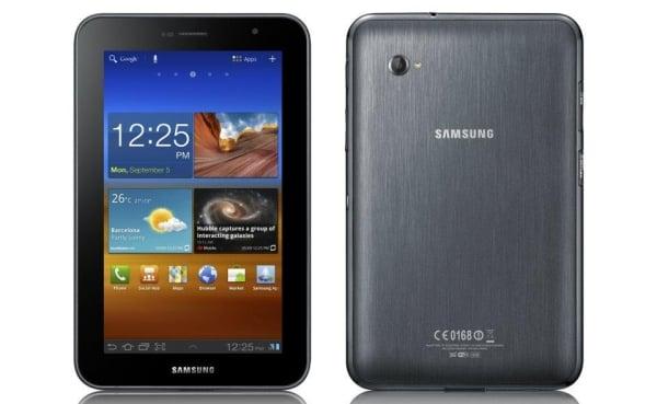 Aktualizacja Samsunga Galaxy Tab 7.0 Plus do Androida 4.1.2 rozpoczęta