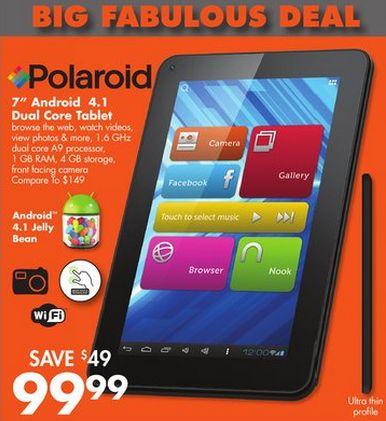 Tabletowo.pl Nowy, tani tablet od Polaroida - czy taka specyfikacja ma jeszcze sens? Nowości