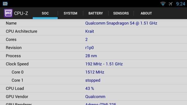 Tabletowo.pl CPU-Z debiutuje w Google Play Aplikacje Nowości
