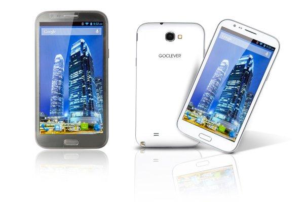 Tabletowo.pl GOCLEVER FONE 570Q: 5,7'' Androida 4.2 i czterordzeniowy procesor za 899 złotych Nowości