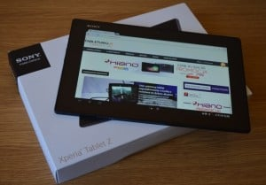 sony xperia tablet z android 4.3
