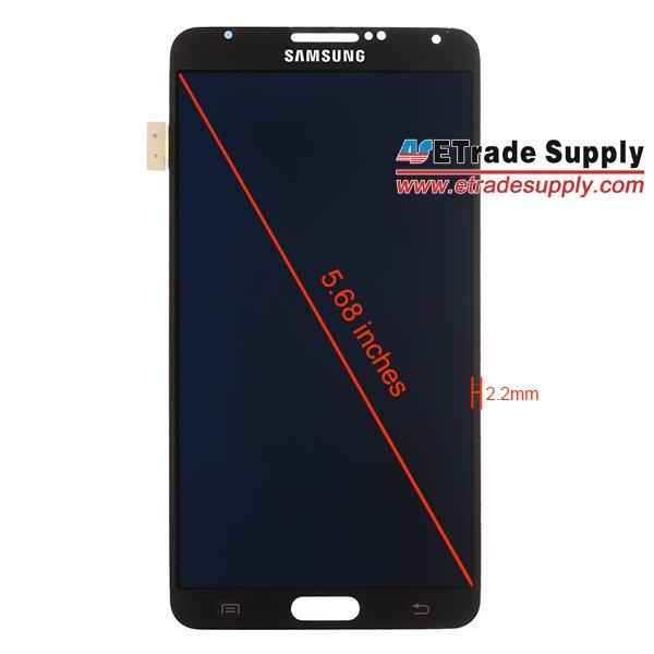 Tabletowo.pl Wyciekły zdjęcia przedniego panelu Samsunga Galaxy Note 3: 5,68-calowy ekran z bardzo wąskąramką Plotki / Przecieki Samsung