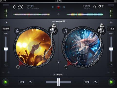 Tabletowo.pl Algoriddim Djay 2 debiutuje w App Store Aplikacje Apple