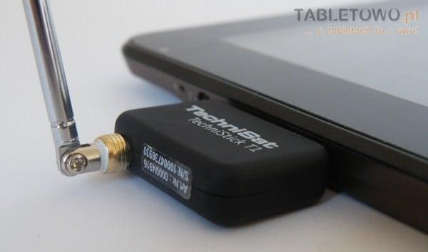 Recenzja tabletu Technisat Technipad 8 i odbiornika DVB-T TechniStick T1 19