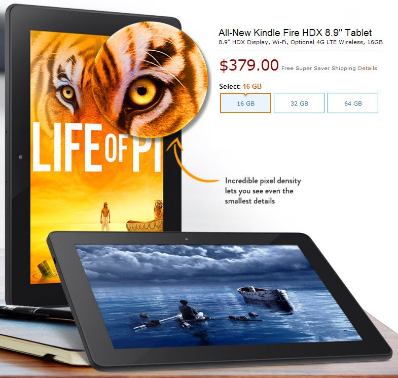 "Nowości Amazon: Kindle Fire HD, Kindle Fire HDX 7"" i 8.9"""