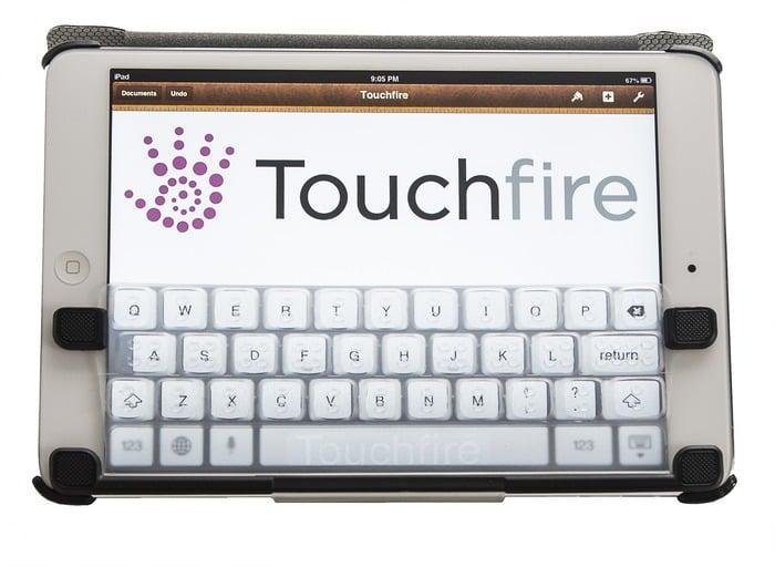 Tabletowo.pl Touchfire: nietypowa klawiatura dla iPada Mini Akcesoria Nowości