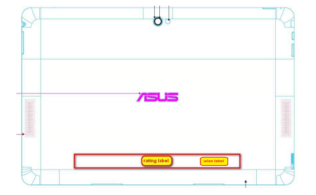 Tabletowo.pl Asus TF502T z wizytą w FCC. Dołączy do serii Transformer Pad? Asus Nowości Plotki / Przecieki