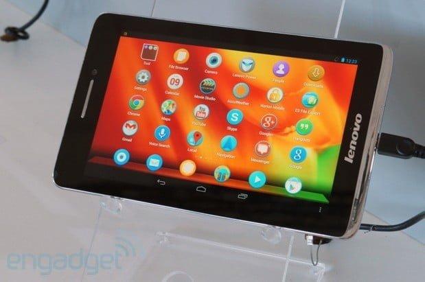 Lenovo S5000: tani tablet z 7-calowym ekranem i Androidem 4.2 Jelly Bean