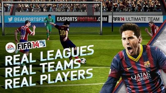 Tabletowo.pl FIFA 14 debiutuje na Androida i iOS Aplikacje Nowości