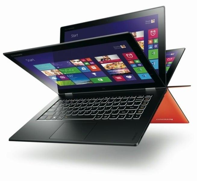 Lenovo przedstawia hybrydę Yoga 2 Pro z ekranem o rozdzielczości 3200 x 1800 pikseli 19