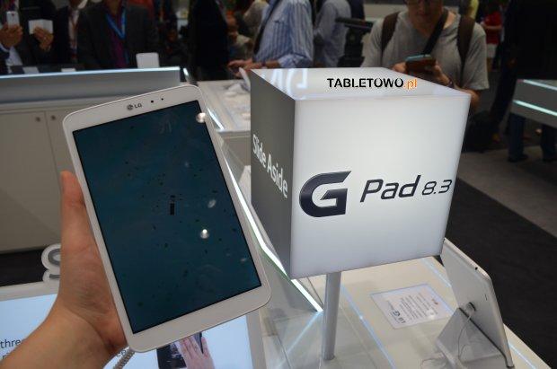 LG G Pad 8.3 za 299 dolarów?