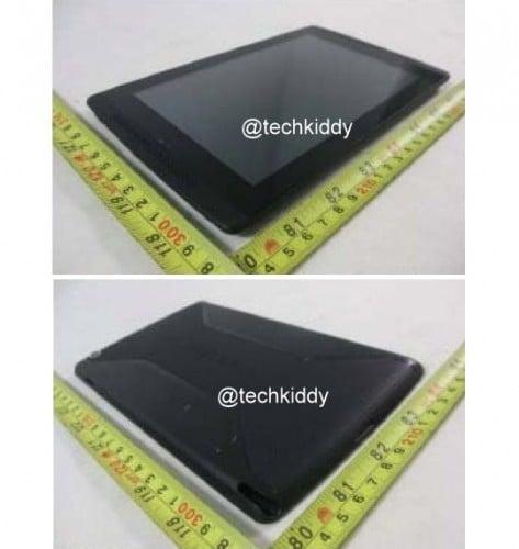 Oto specyfikacja i kolejne zdjęcia tabletu Nvidia Tegra Tab 22