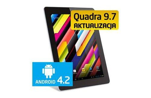 "Pentagram Quadra 9,7"" z aktualizacją do Androida 4.2"