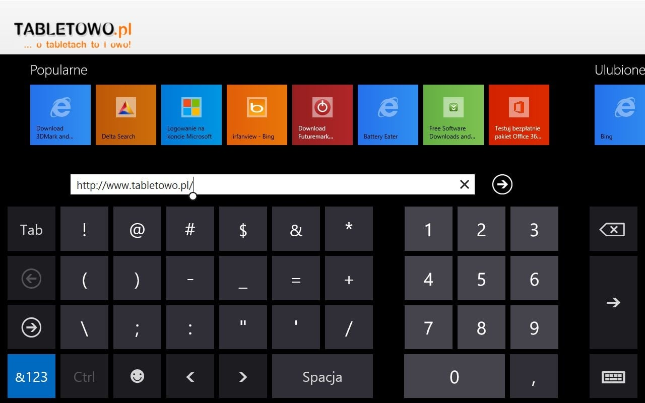 Recenzja tabletu Acer Iconia W3