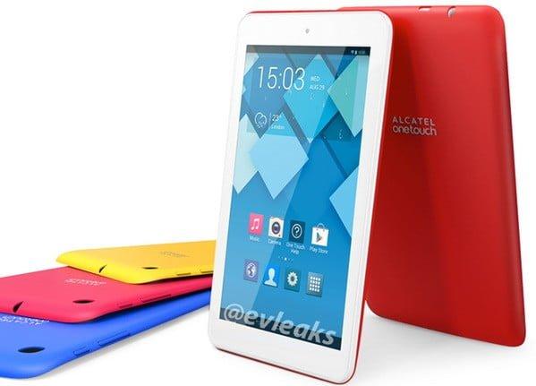 Tabletowo.pl Nadchodzi nowy, kolorowy tablet Alcatel OneTouch Pop Plotki / Przecieki