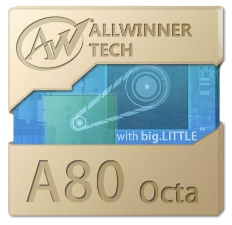 Allwinner zapowiada ośmiordzeniową jednostkę A80 Octa 25