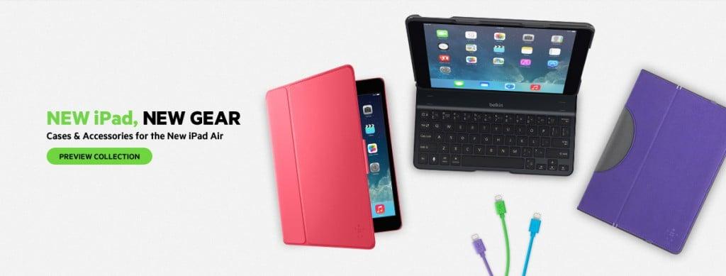 Tabletowo.pl Belkin zapowiada pierwsze akcesoria dla tabletu iPad Air Akcesoria Apple Nowości