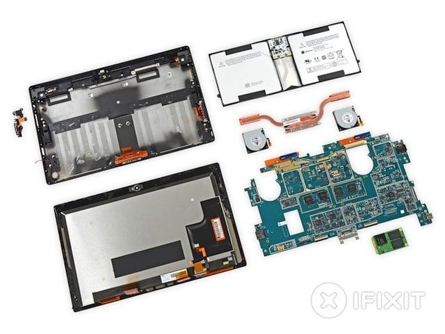Tabletowo.pl Surface Pro 2 rozebrany na części Ciekawostki Microsoft Nowości