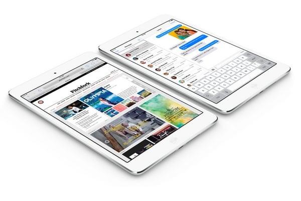 iPad mini z ekranem Retina w sprzedaży od 21 listopada?