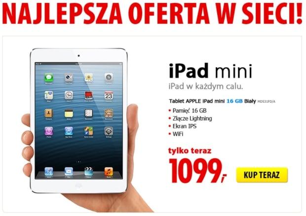 Promocja: Apple iPad mini za 1099 złotych