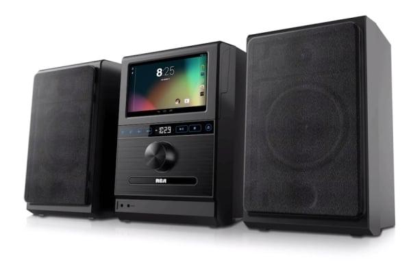 RCA Internet Music System - miniwieża z wbudowanym tabletem 20
