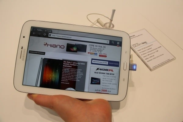 Samsung Galaxy Note 8.0 WiFi oficjalnie zaktualizowany do Androida 4.2.2
