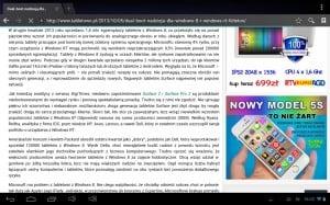 Tabletowo.pl Recenzja tabletu Navroad Nexo Nova Nowości Recenzje