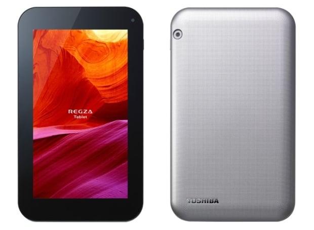 """Tabletowo.pl Toshiba Regza AT374: cztery rdzenie Rockchip RK3188, ale ekran 7"""" 1024 x 600 (Excite 7) Nowości Toshiba"""