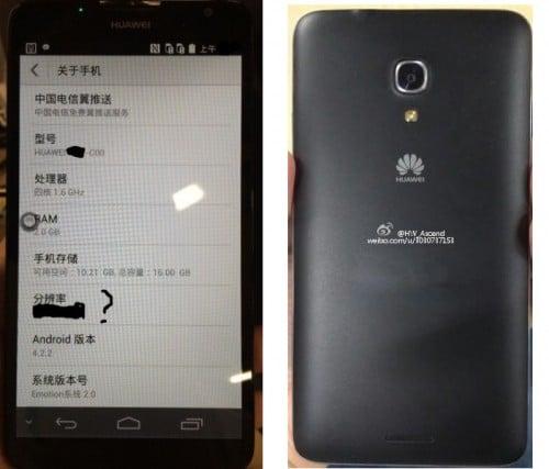 Tabletowo.pl Huawei Ascend Mate 2 - pierwsze zdjęcia i specyfikacja Nowości Plotki / Przecieki