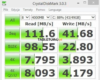 Recenzja tabletu Asus Transformer Book T100