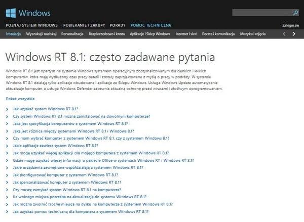 Tabletowo.pl Czyżby koniec Windowsa RT? Microsoft Nowości