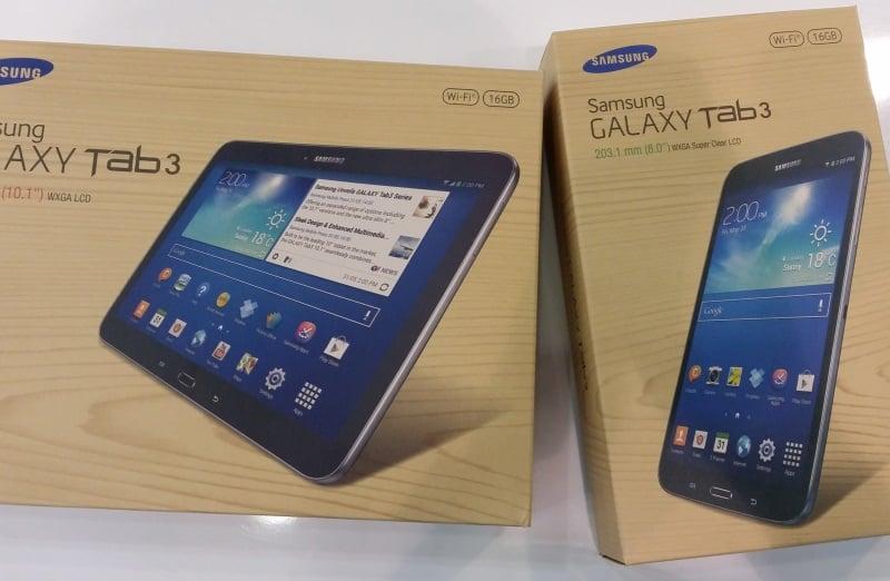Czarne Galaxy Tab 3 w Polsce